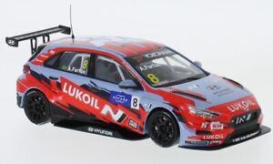 Hyundai i30 N TCR, No.8, Lukoil Team, WTCR, 1:43, IXO