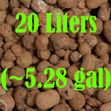20 Liters Hydroponic Clay Beads Growing Media Expanded Clay Rocks (Grit:10-20mm)