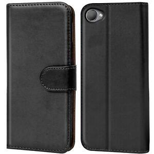 Schutz Hülle Für HTC Desire 12 Handy Klapp Schutz Tasche Book Slim Flip Case