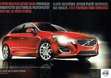 PUBLICITE ADVERTISING 027  2010  la Volvo  S60 (2 pages)