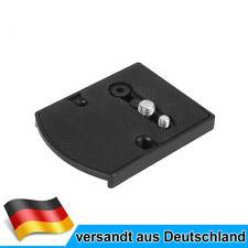 MENGS 410PL Schnellwechselplatte Für DSLR Kamera mit Manfrotto Stativ Videokopf