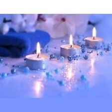 Guirlande De Perles 1,30 m Bleu Marine  Décoration Mariage Baptême Fête  Ref BE