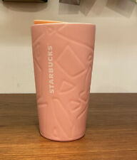 Starbucks Tumbler PINK Ceramic Travel Mug EASTER 2020 NEW!