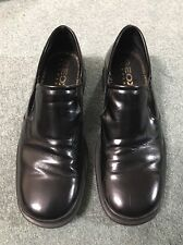 GEOX Men's Slip-On Black Loafers US Size 9.50 Wide Summer Shoe Lightly Used