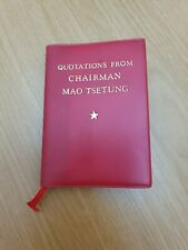 More details for quotations from chairman mao tsetung,1972. people's republic of china.
