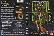 The Evil Dead DVD THE ULTIMATE EXPERIENCE IN GRUELING TERROR, DIGITAL REMASTERED