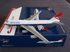 British Airways B747-400 G-CIVB Negus Retro Livery Gemini Model 1:400 GJBAW1858