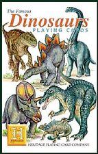 I dinosauri Set di 52 carte da gioco + Buffoni (HPC)