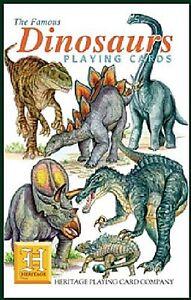 Dinosaurs set of 52 playing cards + jokers (hpc)