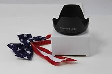 77mm Tulip Flower Lens Hood for DSLR SONY Alpha 11-18mm f/4.5-5.6 DT