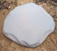 """Plain plaque mold plaster concrete mould decorate yourself 9"""" x 8.5"""""""