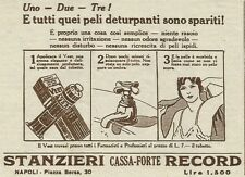 W3332 Crema depilatoria VEET - Pubblicità 1930 - Advertising