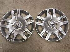 "Pair of 2 53084 NEW 2010 2011 2012 Nissan Sentra Hubcaps 16"" Inch Wheel Covers"