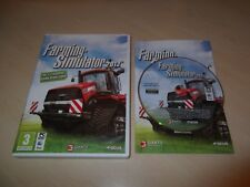 FARMING SIMULATOR 2013 - MAC / PC GAME COMPLETE WITH MANUAL & SERIAL KEY VGC