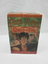 Harry Potter and the Goblet of Fire Books On Tape Complete 12 Cassettes