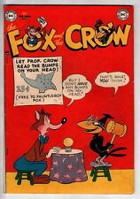 FOX And The CROW #2 DC 1952 Scarce Issue