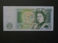 ***1st Series 'UNC'  A01** £1 British  Page Banknote***9 available