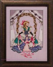 Mirabilia Cross Stitch MD157 Alice semi kit Chart.Linen.Beads.