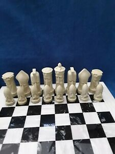LATEX MOULDS, GOTHIC HEADS CHESS SET