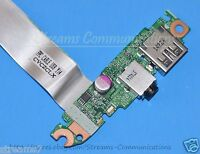 HP 15-P030NR Laptop USB + Audio Port Board w/ Ribbon Cable