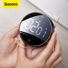Baseus Magnetic Kitchen LCD Digital Timer Countdown 99 Minute Cooking Alarm