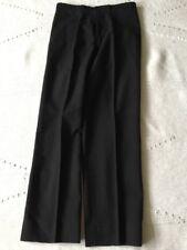 Black Masonic Mourning/Morning Suit/Uniform Trousers 30W 28 Long