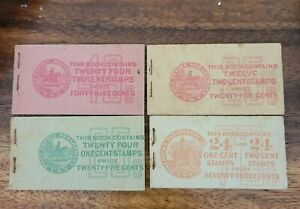 2 Cent Stamps booklets