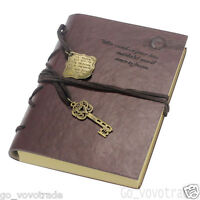 New Vintage Magic Key String Leather Note Book Diary Travel Notebook Paper Gifts