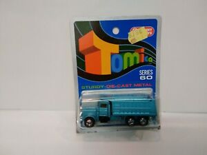 TOMICA AMERICAN DUMP TRUCK .on Blue card MADE FOR G.J COLES  MELBOURNE AUSTRALIA
