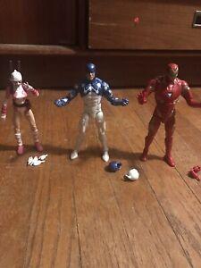 marvel legends loose figures lot Gwen Pool Iron Man Cosmic Spider Man