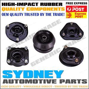 PAIR Front Strut Top Mounts + Bearings Nissan Bluebird U13 2.4L 4Cyl 10/93-12/97