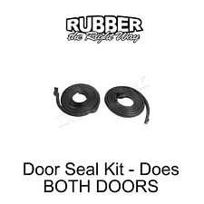 1956 1957 Lincoln Door Seal Kit - Does Both Doors