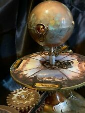 PRICE DROP STEAMPUNK JULES VERNE EARTH SUN MOON ORRERY SOLAR SYSTEM