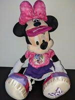 Walt Disney World Disney Parks Minnie Mouse Plush Collectable Soft Toy Rare