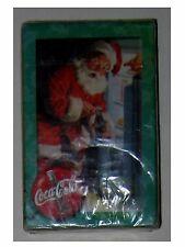 NIP Sealed One Deck Coke Coca-Cola Santa Drinking Coke Christmas Playing Cards