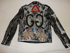 Original Gucci Ghost Biker Leather Jacket Lederjacke sold out limited edition