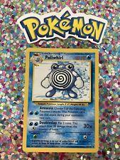 ⭐️ Poliwhirl Base Set Pokemon Card Wizards WotC Game Freak Nintendo 1999 🎏