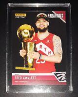 FRED VANVLEET NBA Champions 2019 Limited Edition NBA Card #17 Panini Instant