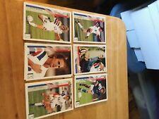1994 Mia Hamm Upper Deck Soccer English/Spanish RC #268. 7 cards plus 103 cards