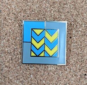 British Rail Railfreight Metals Sector enamel pin badge