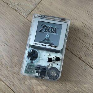 Nintendo Gameboy Game Boy Pocket GBP IPS mod Transparent