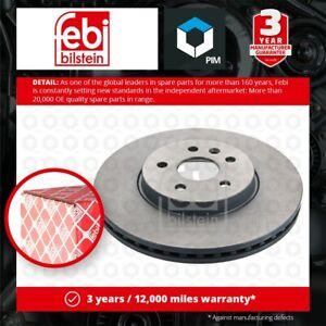 2x Brake Discs Pair Vented fits VAUXHALL MOKKA J13 1.7D Front 2012 on A17DTS Set
