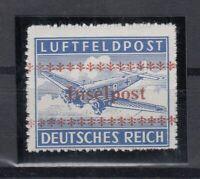 G3320/ GERMANY REICH – INSELPOST – MI # 7B MINT MNH CERTIFICATE – CV 3300 $
