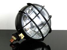 Motorrad Scheinwerfer Phare Headlight Headlamp Faro schwarz black f. Cafe-Racer