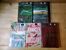 Iris Johansen Hardcover Book Lot of 5 Treasure Quicksand deadlock Shadow pandora