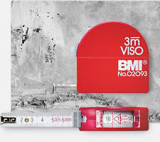 BMI Pocket Tape 405 VISO 3m Tape Measure With Top Window for Inside Measuring