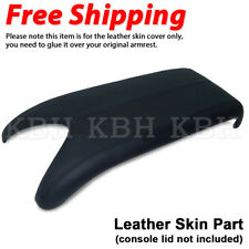 Fits 2007-2012 Acura RDX Leather Center Console Lid Armrest Cover Skin Black