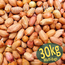 30kg *Premium Grade* Peanuts for Wild Birds -  Groundnut Kernels Bird Food Nuts