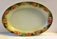 ANTIQUE  R.S. GERMANY CELERY DISH * THE ROBERT SIMPSON COMPANY * HANDPAINTED