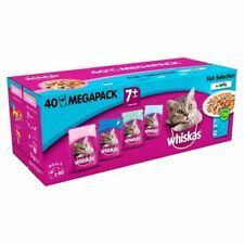 Whiskas 7+ Cat Pouch Fish in Jelly 40 x 100g - 262133